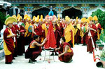 Overtone chanting by Gyudmed Tantric Monastic University's monks